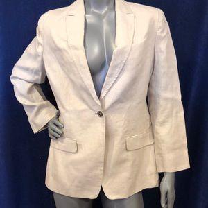 Women's Brook's Brothers linen blazer, 14